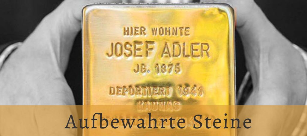 the Stolperstein of Josef Adler, just one of the kept stumbling stones. Link leads to a complete map with information about all the kept Stolpersteine with information about the victims' life and where they lived | der Stolperstein von Josef Adler, nur einer der erhaltenen Stolpersteine. Der Link führt zu einer vollständigen Karte mit Informationen zu allen gehaltenen Stolpersteinen mit Informationen zum Leben der Opfer und wo sie gelebt haben.